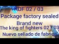 KOF 2002 / 2003 PACKAGE FACTORY SEALED BRAND-NEW