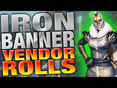 Destiny - IRON BANNER INVENTORY - DISTANT STAR - TIER 12 ARMOR -