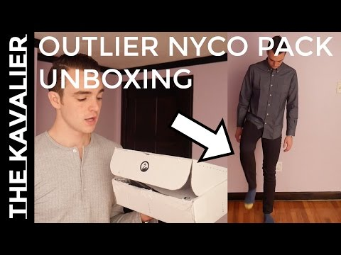 "Outlier NYC Unboxing and Review | Performance Dress Wear - ""Future of Clothing"" ?"