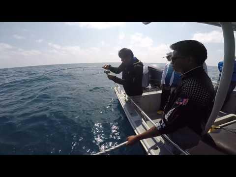 fishing with GOPRO 5 2017 Rompin Malaysia