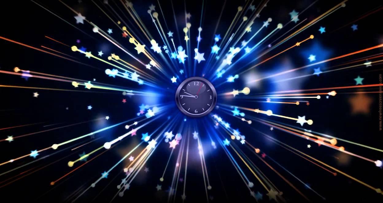 Free Clock Screensaver Nfsstarsfly