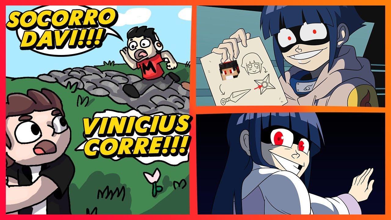 VINICCIUS13 E A PERSEGUIÇÃO AUTOMÁTICA | Memes de Naruto Shippuden e Boruto | Memes em Imagens