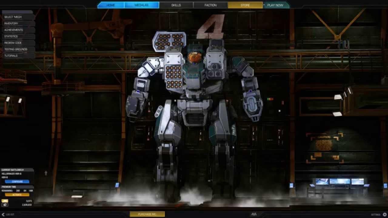 LRM80 Hunchback IIC Missile Troll Build - Mechwarrior Online
