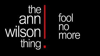 the ann wilson thing - fool no more