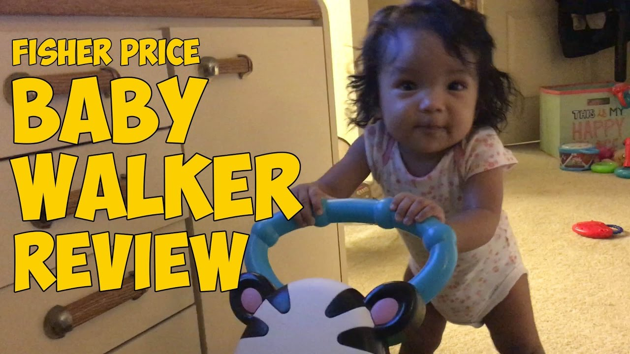 Fisher Price Baby Walker Review (VLOG#89) - YouTube