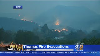 Santa Barbara, Fillmore Still Threatened By Thomas Fire