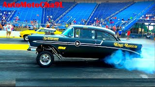 Pedal to the Metal old Gasser Drag Racing