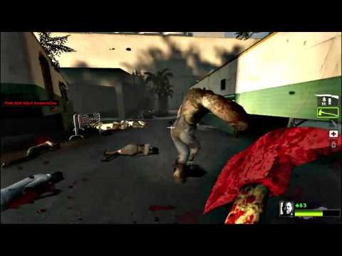 Left 4 Dead 2 - How to one-hit-kill chargers - Finding the charger's head