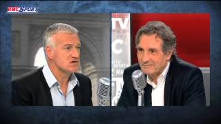 Document BFM TV-RMC Sport / Deschamps et la Marseillaise - 16/04