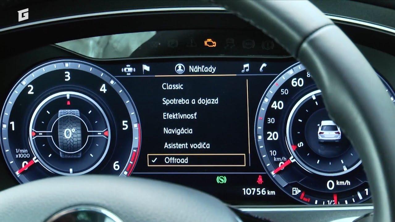Volkswagen Tiguan - virtual cockpit - SUV - GARÁŽ.TV - YouTube | {Auto cockpit vw 18}