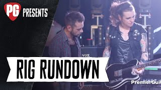 Rig Rundown - Against Me!'s Laura Jane Grace and James Bowman