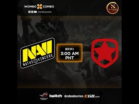 Navi Vs Gambit Game 2 (BO3) CIS Qualifiers DAC 2018