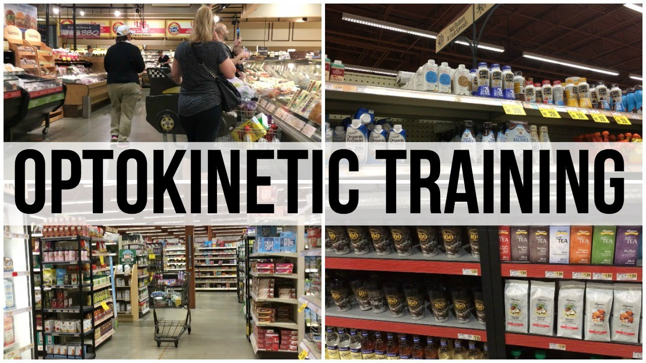 Busy Grocery Store: Optokinetic Training (3:30) - YouTube