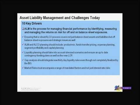 Asset & Liability Management Training: Top 10 Challenges & Key Drivers Today - Part 1