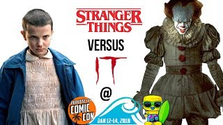 Stranger Things vs It at Paradise City Comic Con