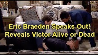 Y&R Spoilers Eric Braeden Speaks Out on Victor's Death Shocker – Reveals True Status at Y&R Video