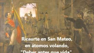 Himno Nacional Colombia -estrofa 11-