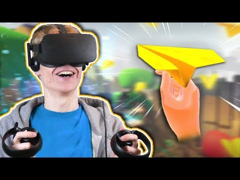 A LONELY, MEDITATION-LIKE VR ADVENTURE | Paper Valley VR (Oculus Touch Gameplay)