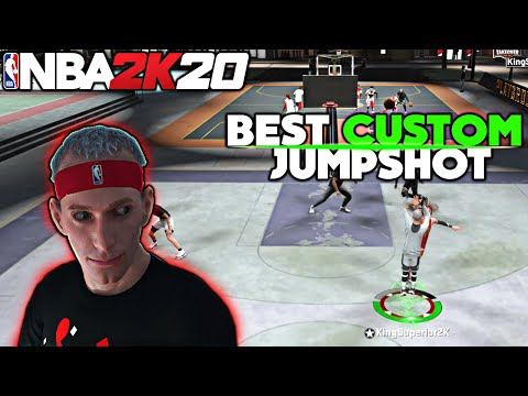 NBA 2K20 BEST CUSTOM JUMPSHOT IN THE GAME EASIEST WAY TO GET 100% GREEN RELEASES
