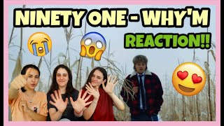 🛀 TURKISH REACT TO NINETY ONE - WHYM M/V  WITH ENG SUB