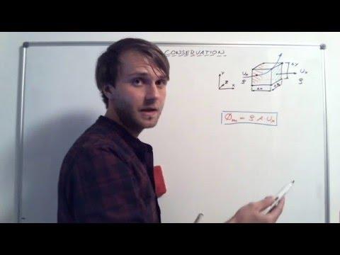 Holzmann CFD :: Teaching :: Derivation of Mass Conservation Equation