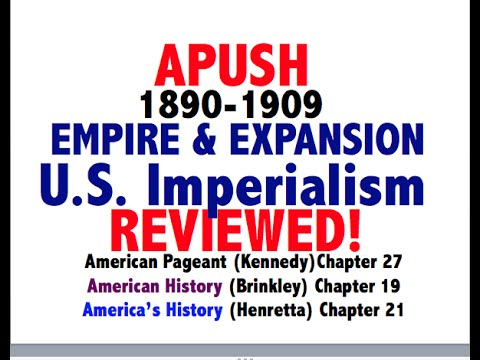 American Pageant Chapter 27 APUSH Review