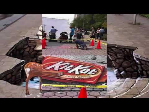 Best of 3D street art painting|| painting of 3D art illution.