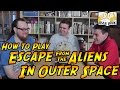 Escape From the Aliens in Outer Space - How to Play