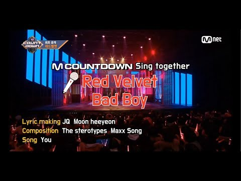 [MCD Sing Together] Red Velvet - Bad Boy Karaoke ver.