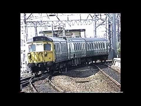 British Rail Vignettes May 1992 #5 Shrewsbury Crewe & Euston