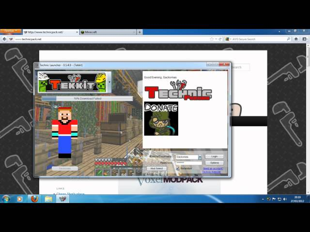 How to: Installing the Tekkit, Technic, Yogbox and Voxel mod packs and Tekkit server setup.