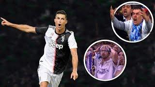 CRAZY Fan Reactions To C. Ronaldo GOALS |HD|