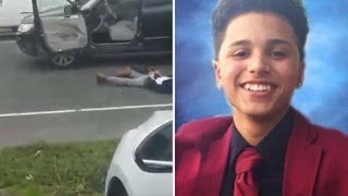 Outrage After Cop Kills 15-Year-Old Boy Who Allegedly Tried to Hit Him With Car