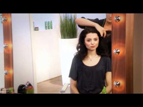 Vamp-Look: Sina Velke Haarstyling-Video von Garnier
