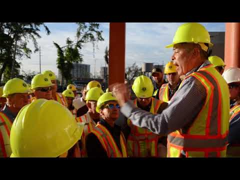 Congressional Delegation visits Power Plant in Puerto Rico