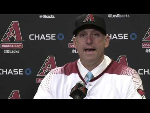 Torey Lovullo becomes new D-backs manager | Cronkite News