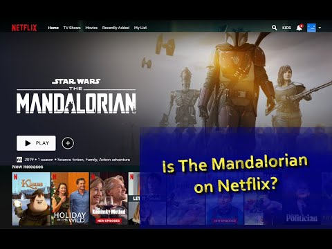 Is The Mandalorian On Netflix?