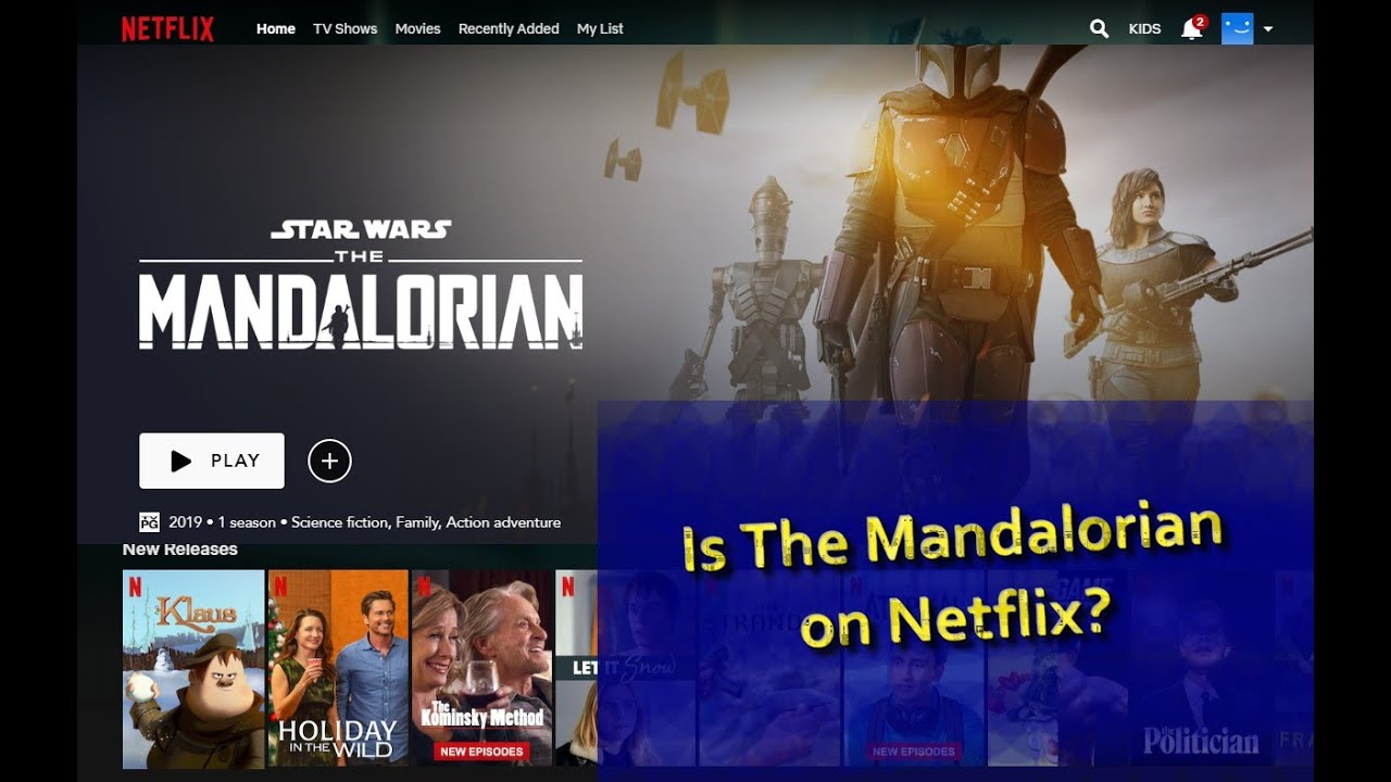 Mandalorian Netflix