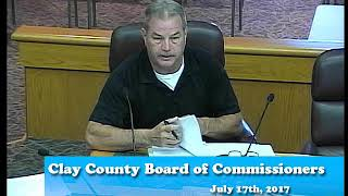 B170717A -07/17/17 - Clay County MN Board of Commissioners