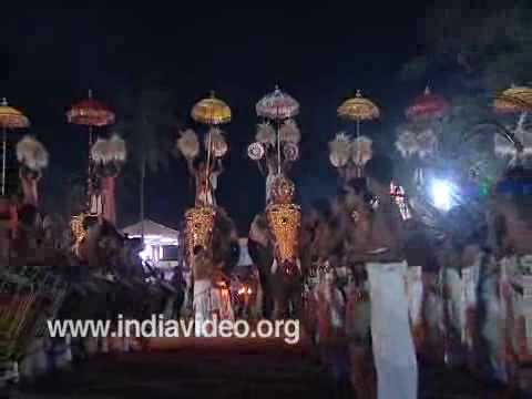 Vishu festival at Thiruvangad Sree Ramaswamy Temple