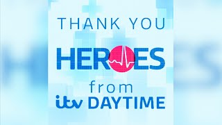Nhs Frontline Thank You From The Itv Daytime Team | Clap For Carers | Itv