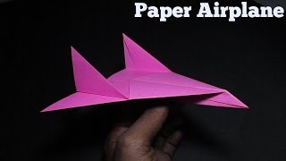 Origami Airplane - How To Make An Origami Paper Airplane That Flies Far - 3
