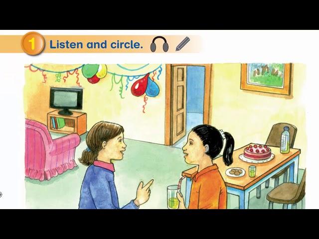 الصف الثالث إنجليزي الفصل الثاني الصفحة 40 و41