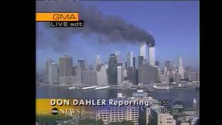 9/11 Attacks:  ABC News Live Coverage - Sept 11, 2001 (Part One)