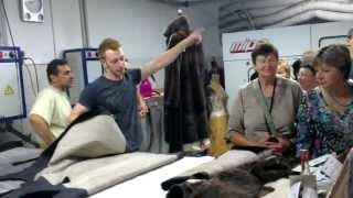 Как шьют шубы в Греции. Экскурсия по фабрике PKZ Furs в Касторье(, 2013-07-03T08:07:17.000Z)