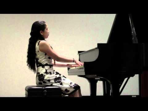 "Gita Abhiraman performas Claude Debussy Prelude Book 1, No. 5, L117, ""Les Collines d Anacapri"""