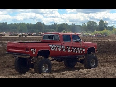 Trucks Gone Wild Michigan >> Time to Get Down N Dirty! Hood View Michigan Mud Jam - YouTube