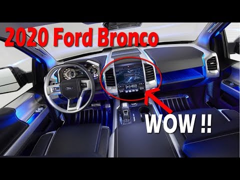 LOOK THIS!! 2020 Ford Bronco Concept, Release Date, Price | Furious Cars