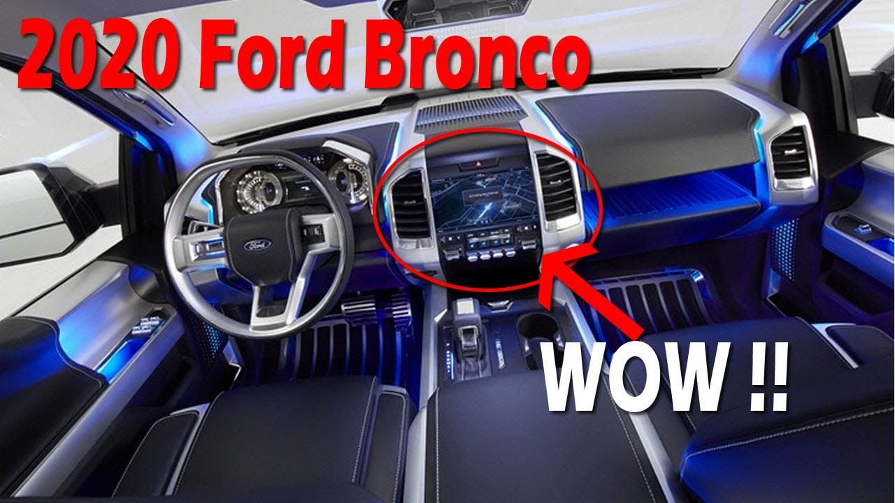 Look This 2020 Ford Bronco Concept Release Date Price Furious