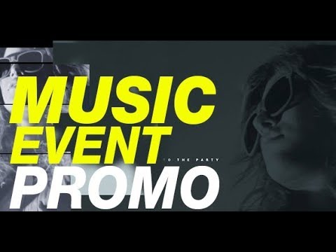 Music Event Promo | Party Invitation Template After Effects